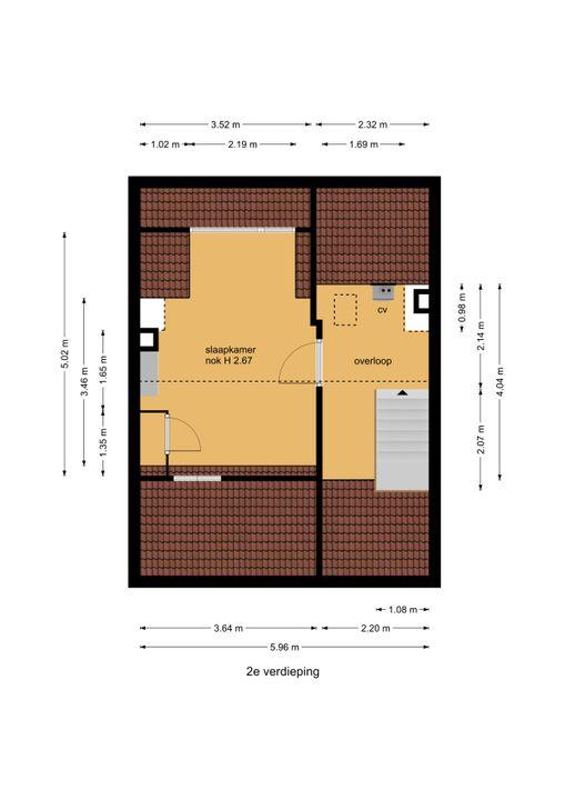 Graaf Janlaan 39, Leidschendam floorplan-2