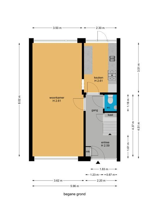 Graaf Janlaan 39, Leidschendam floorplan-0