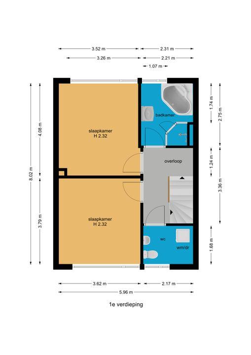 Graaf Janlaan 39, Leidschendam floorplan-1