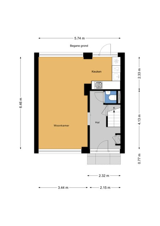 Sytwinde 196, Nootdorp floorplan-0