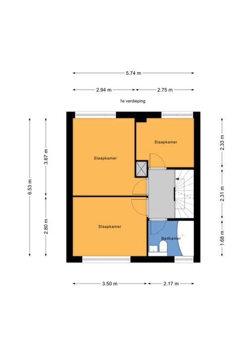 Sytwinde 196, Nootdorp floorplan-1