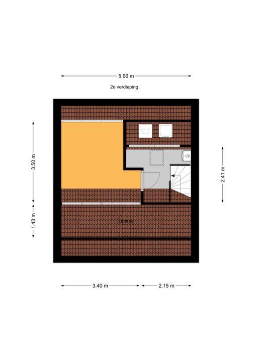 Sytwinde 196, Nootdorp floorplan-2