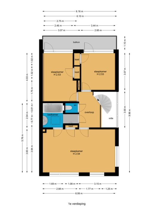Prinses Margrietlaan 18, Voorburg floorplan-1