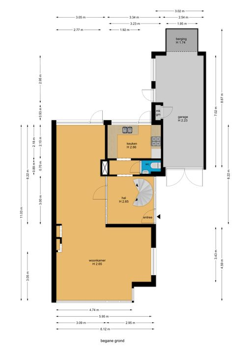 Prinses Margrietlaan 18, Voorburg floorplan-0
