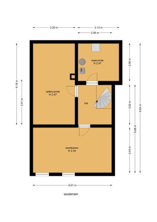 Prinses Margrietlaan 18, Voorburg floorplan-2