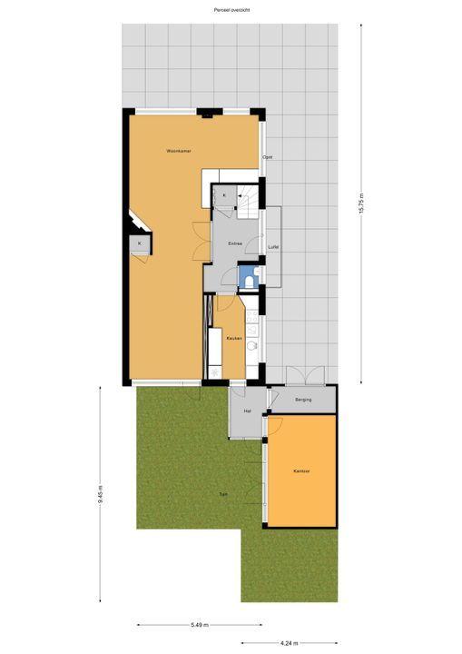 Marialaan 23, Voorburg floorplan-3