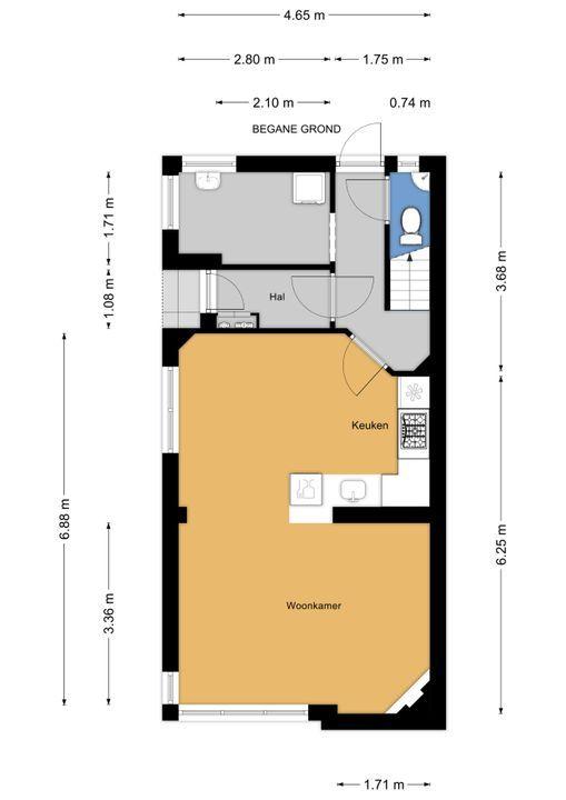 Hofwijckstraat 79, Voorburg floorplan-0