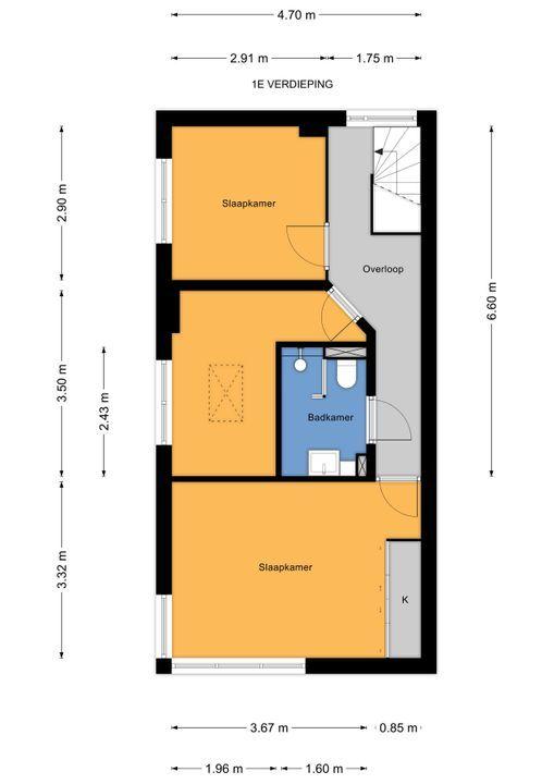Hofwijckstraat 79, Voorburg floorplan-1