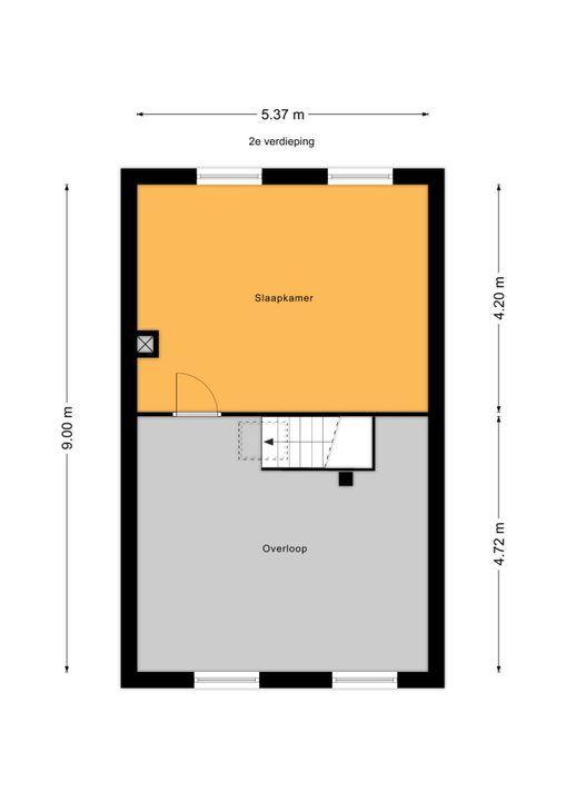 Jacobsmantelstraat 14, Den Haag floorplan-2
