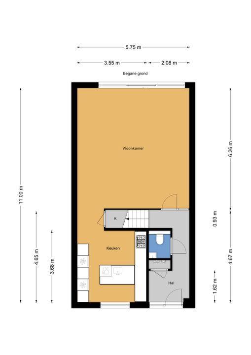Jacobsmantelstraat 14, Den Haag floorplan-0