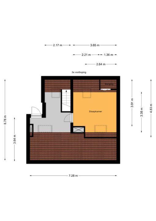 Carel Vosmaerstraat 58, Voorburg floorplan-1