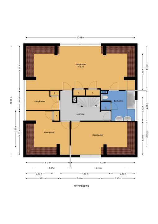 Eikendael 29, Wassenaar floorplan-1