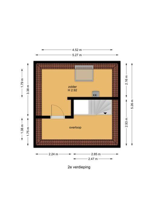 Eikendael 29, Wassenaar floorplan-2