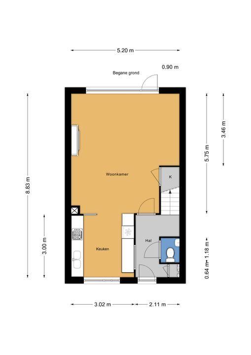 Rodelaan 63, Voorburg floorplan-0