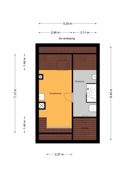 Rodelaan 63, Voorburg floorplan-2