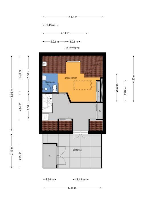 Prinses Mariannelaan 33, Voorburg floorplan-2