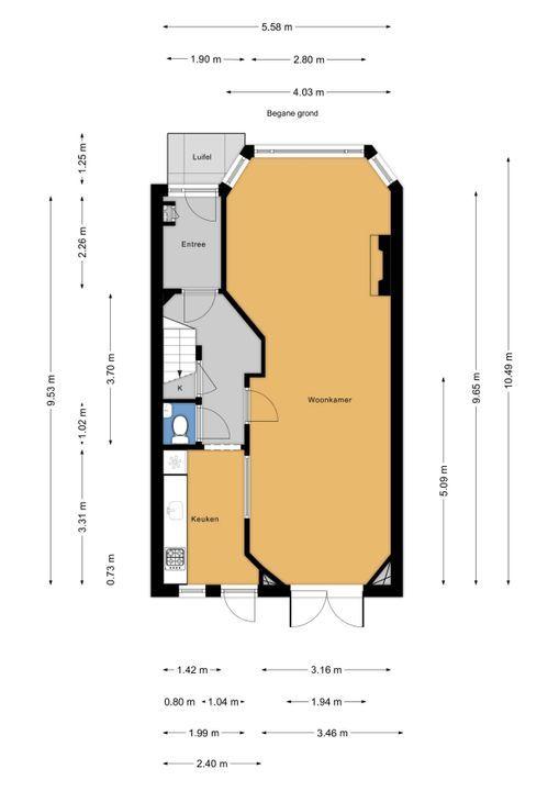 Prinses Mariannelaan 33, Voorburg floorplan-0