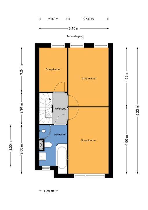 Soomerluststraat 4, Voorburg floorplan-1