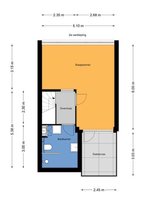 Soomerluststraat 4, Voorburg floorplan-2