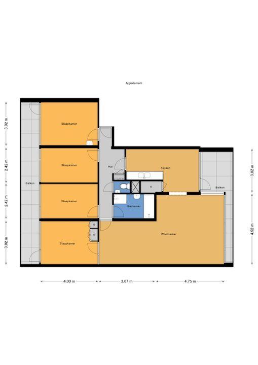 Tulpentuin 73, Voorburg floorplan-0