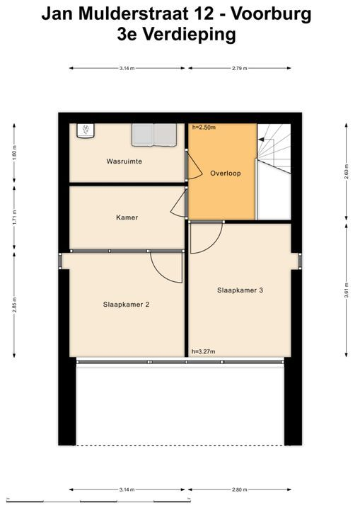 Jan Mulderstraat 12, Voorburg floorplan-3