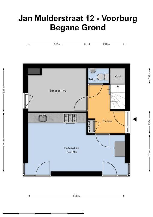 Jan Mulderstraat 12, Voorburg floorplan-0