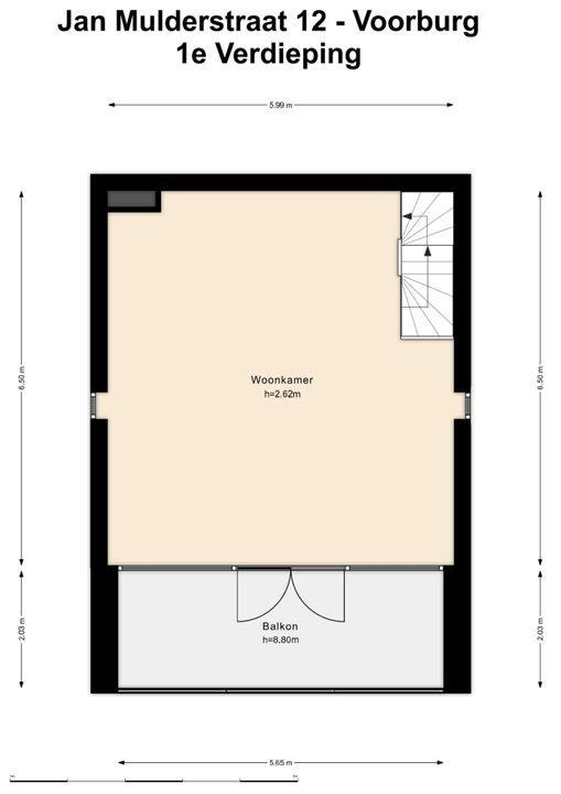 Jan Mulderstraat 12, Voorburg floorplan-1