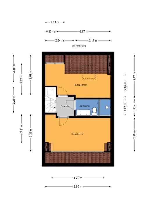 Eemwijkstraat 37, Voorburg floorplan-2