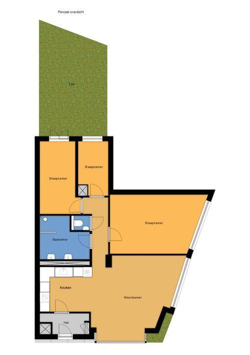 van Halewijnlaan 487, Voorburg floorplan-1