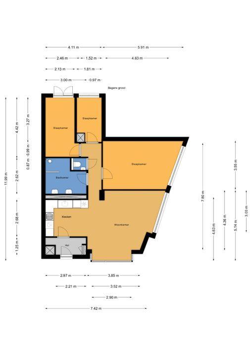 van Halewijnlaan 487, Voorburg floorplan-0