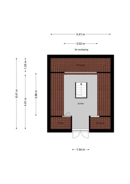 Voorburgseweg 4, Leidschendam floorplan-2