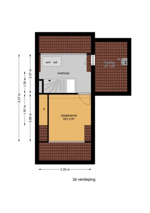 Agrippinastraat 59, Voorburg floorplan-2