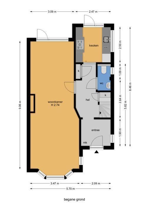 Agrippinastraat 59, Voorburg floorplan-0