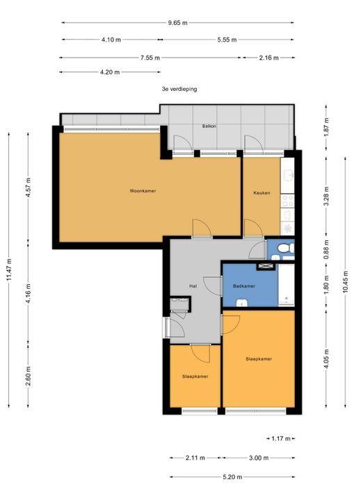 Kersengaarde 222, Voorburg floorplan-0