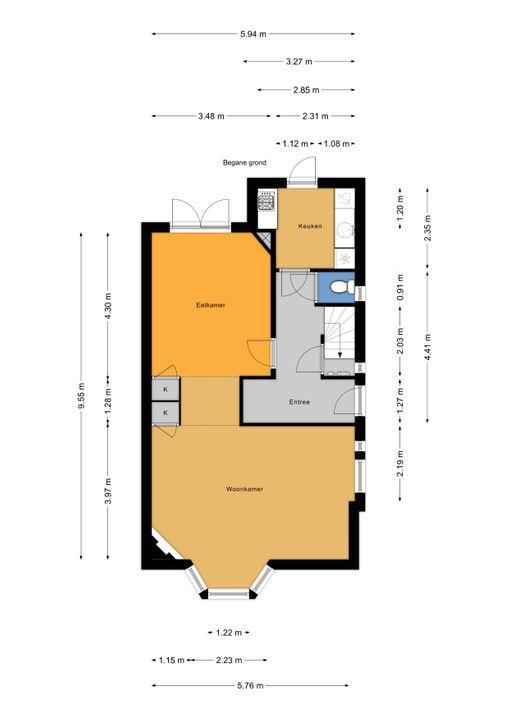 Prinses Mariannelaan 13, Voorburg floorplan-0