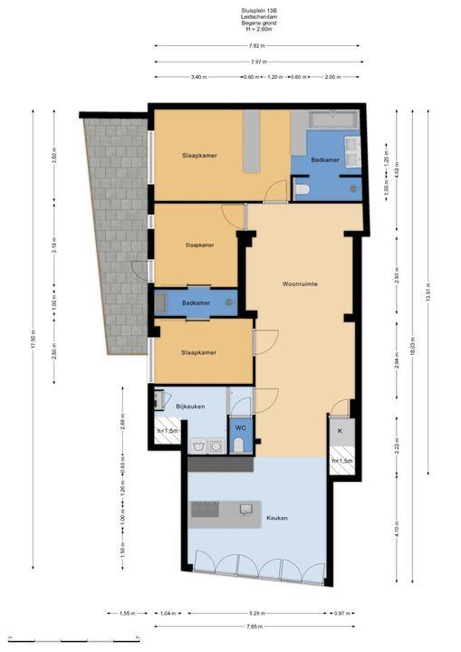 Sluisplein 13 B, Leidschendam floorplan-0
