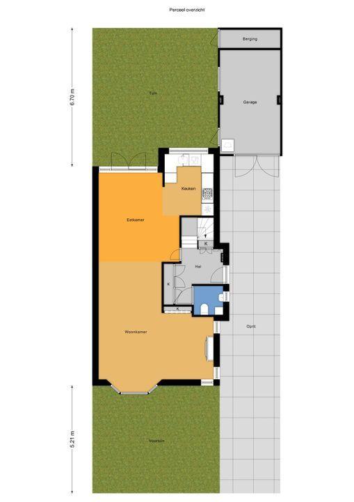 Den Burghstraat 4, Voorburg floorplan-4