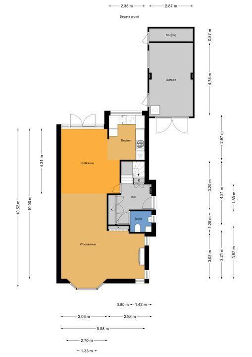 Den Burghstraat 4, Voorburg floorplan-0