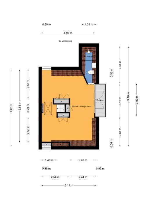 Den Burghstraat 4, Voorburg floorplan-2