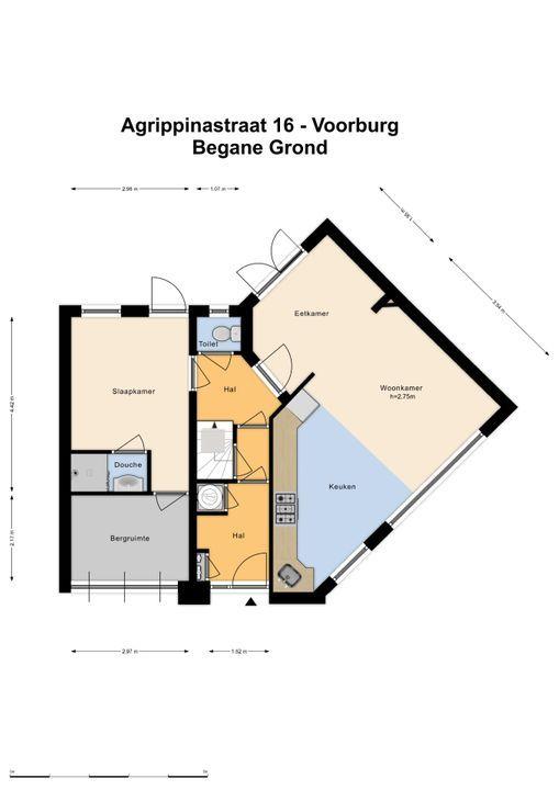 Agrippinastraat 16, Voorburg floorplan-0