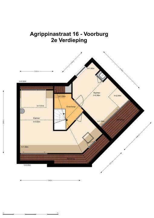 Agrippinastraat 16, Voorburg floorplan-2