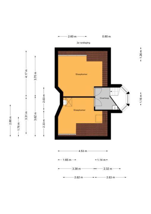 Veldzichtkade 1, Voorburg floorplan-2