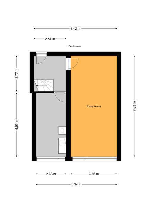 Laan van Nieuw Oosteinde 121 E, Voorburg floorplan-1