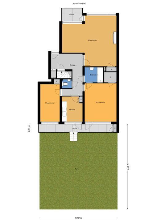 Laan van Nieuw Oosteinde 121 E, Voorburg floorplan-2