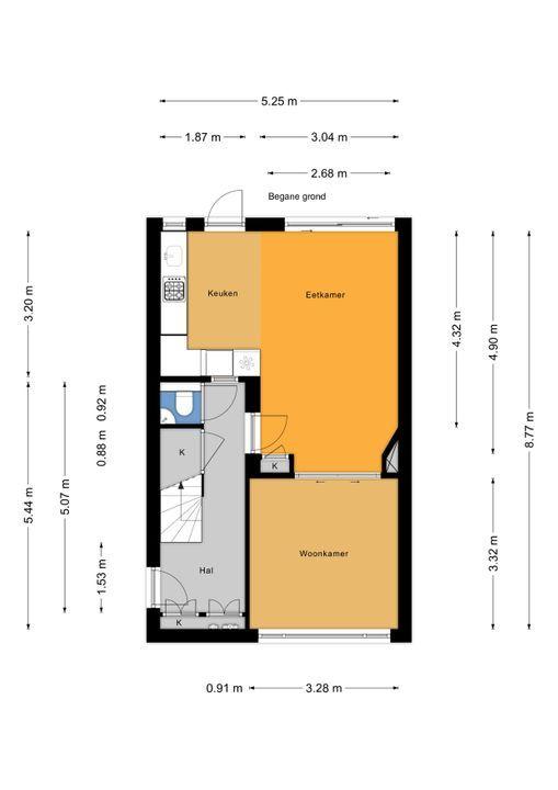 Oostvlietstraat 10, Voorburg floorplan-0