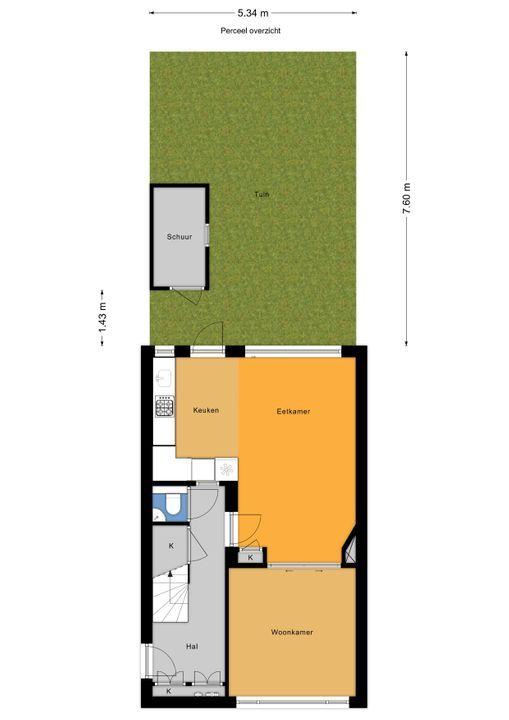 Oostvlietstraat 10, Voorburg floorplan-4