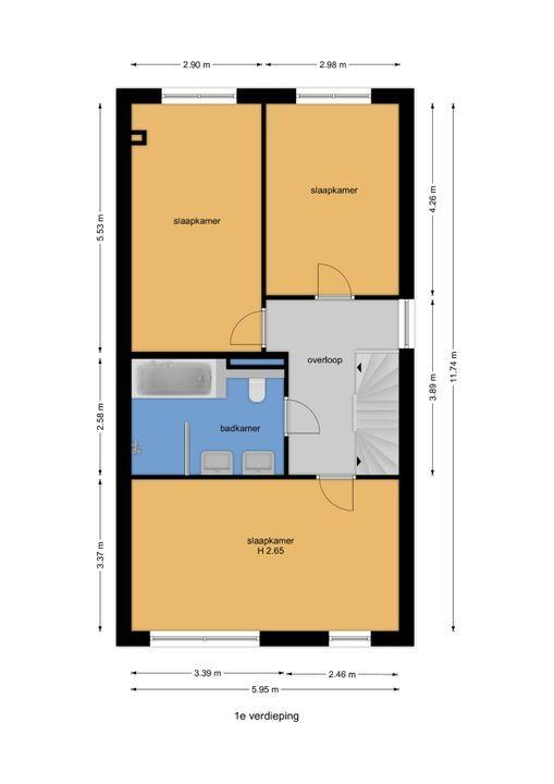 Watermolensingel 13, Leidschendam floorplan-1