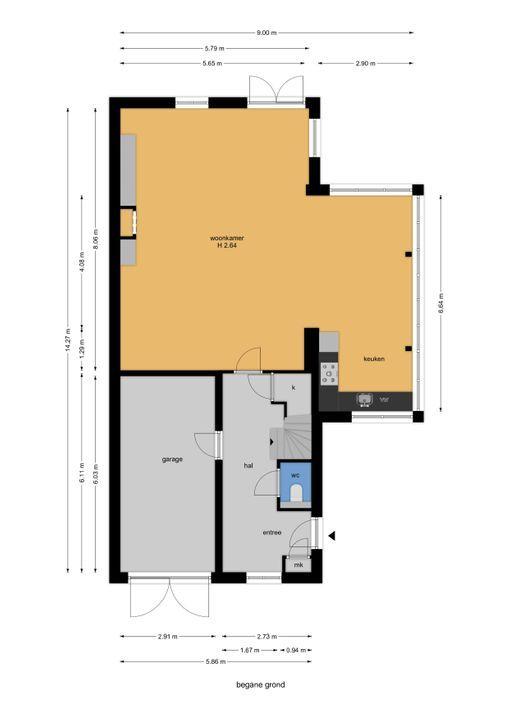 Watermolensingel 13, Leidschendam floorplan-0