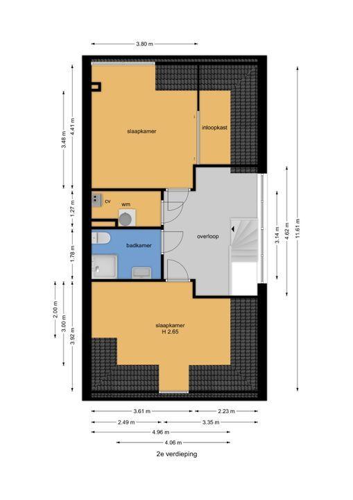 Watermolensingel 13, Leidschendam floorplan-2