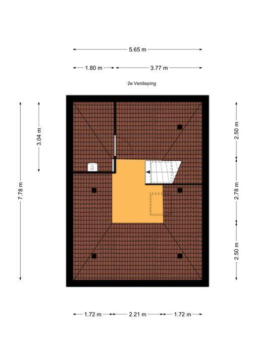 Vondelstraat 3, Voorburg floorplan-2